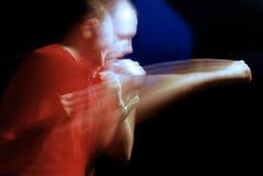 Boxeo del hombre Foto de archivo libre de regalías