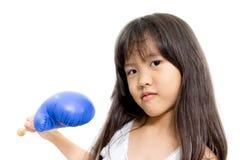 Boxeo del niño Foto de archivo libre de regalías