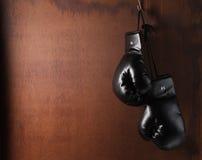 Boxeo-guante Foto de archivo libre de regalías