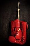 Boxeo-guante Imagenes de archivo