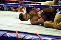 Boxeo tailandés Imagenes de archivo