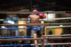 Boxeo tailandés Imagen de archivo libre de regalías