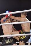 Boxeo tailandés Fotografía de archivo libre de regalías