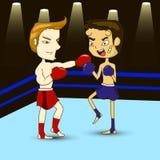 boxer Lizenzfreie Stockfotografie