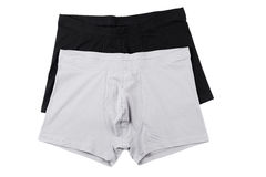 Boxer briefs isolated on a white Stock Photo