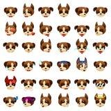 Boxer Dog Emoji Emoticon Expression Royalty Free Stock Photo