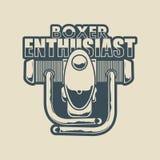 Boxer enthusiast Royalty Free Stock Photos