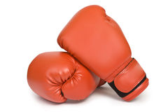 Boxer glove Royalty Free Stock Photos