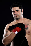 Boxer hand towel Stock Images