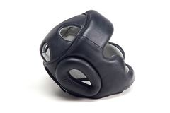 Boxer helmet Stock Photo