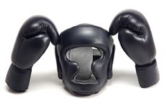 Boxer helmet Royalty Free Stock Image