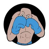 Boxer illustration Stock Images