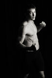 Boxer, Kämpfer Stockfotos