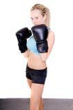 boxer kobieta zdjęcie royalty free