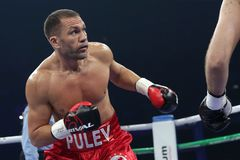 Boxer Kubrat Pulev royalty free stock photos