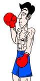 Boxer man Royalty Free Stock Photography