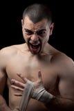Boxer man Royalty Free Stock Images