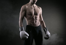 Boxer man Royalty Free Stock Photos