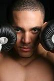 Boxer-Nahaufnahme Lizenzfreie Stockfotos