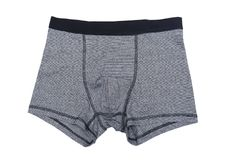 Boxer shorts. Isolated on the white background Royalty Free Stock Photography