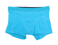 Boxer shorts. Isolated on the white background Stock Photography