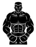 Boxer-Spieler vektor abbildung