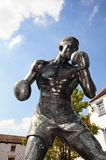 Boxer statue, Warwick. Stock Image