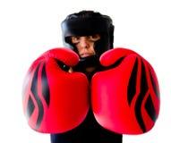 Boxerfrau Lizenzfreies Stockfoto