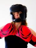 Boxerfrau Lizenzfreies Stockbild
