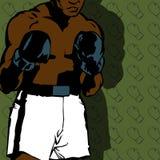Boxerhintergrund Lizenzfreies Stockbild