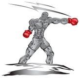 Boxerlocher stock abbildung