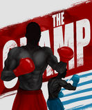 Boxers illustration. Royalty Free Stock Photo