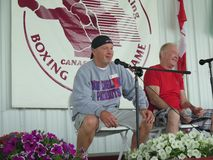 Boxers Micky Ward and Dicky Eklund Royalty Free Stock Images