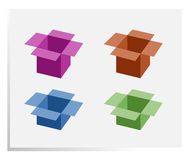 Boxes Royalty Free Stock Photo