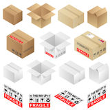Boxes Royalty Free Stock Photos