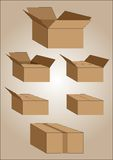 Boxes Royalty Free Stock Image