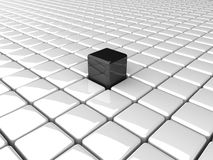 Boxes_Bw Stock Foto's