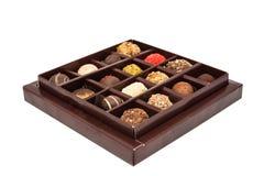 Boxes of chocolates truffles Royalty Free Stock Photo