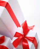 boxes chrismas Arkivbilder
