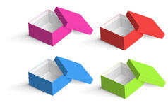 Boxes collection Royalty Free Stock Photo