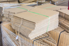Boxes and Components. For the packaging Royalty Free Stock Photography