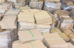 Boxes and Components. For the packaging Royalty Free Stock Image