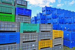 Boxes containers Royalty Free Stock Image