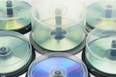 boxes diskettdvd Arkivbild