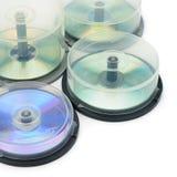 boxes diskettdvd Arkivfoto