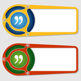 Boxes for entering text royalty free illustration