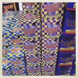 Boxes of fireworks at a store Royalty Free Stock Photography