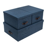 Boxes for folding things Royalty Free Stock Image