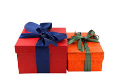 Boxes For A Gift Stock Photo