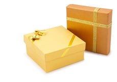 boxes gåva två Arkivfoton